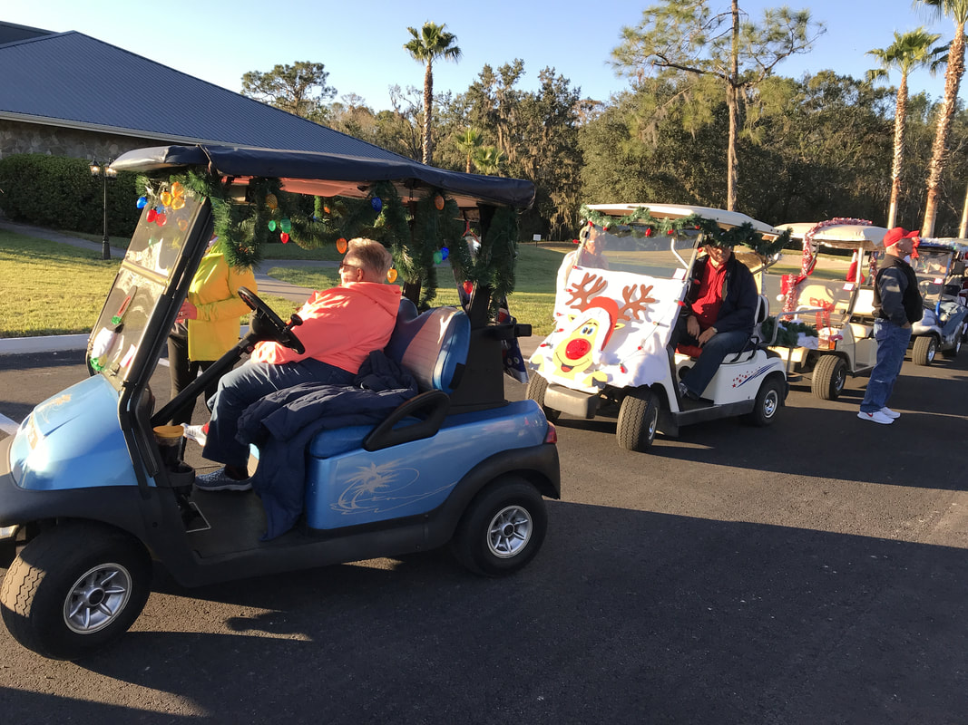 2017 Christmas Golf Cart Parade - Hamptons Golf & Country Club on